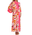 Natori Zelda Printed Long Robe W74002