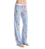 PJ Salvage Playful Prints Puppies Pajama Pant YPLAP1