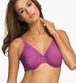 Wacoal Halo Lace Molded Underwire Bra with J-Hook 851205