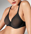 Wolford Tulle Molded Underwire Bra 69571