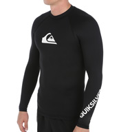 Quiksilver All Time Long Sleeve Surf Shirt Rash Guard EQYWR034